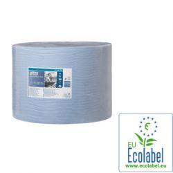 Papier essuyage bleu 1500F 2 plis