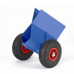 Pince à panneaux roues pneumatiques
