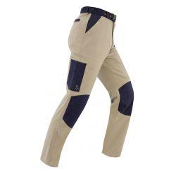 Pantalon tenere beige/bleu