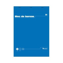 Bloc notes bureau A4 60g