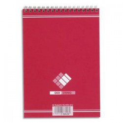 Bloc notes bureau 148*210 60g 5*5