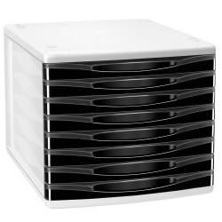 Bloc 8 Tiroirs Cep Box Noir 898