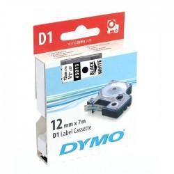 K7 DYMO 12MM N/Jaune
