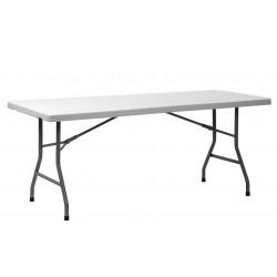 Table pliante polyéthylène 183x76x74cm