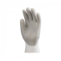 Gants tricot gris T10