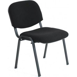Chaise visiteur tissu