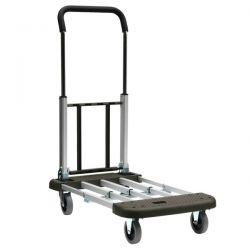 chariot pliable aluminium télescopique 150kg
