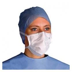 masque visiteur elastique blanc