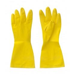 gant de menage jaune