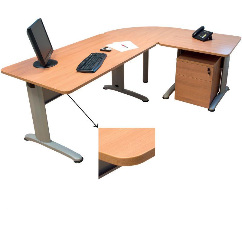Bureau administratif noyer manudom for Bureau noyer