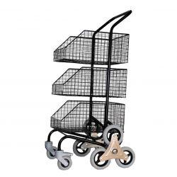 Chariot de Distribution 3 Paniers
