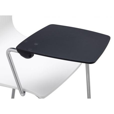 chaise alice avec tablette critoire. Black Bedroom Furniture Sets. Home Design Ideas