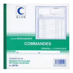 Carnet Commande Tripli 210*210