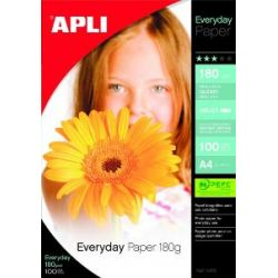 Papier Photo A4 180grs Paquet de 100