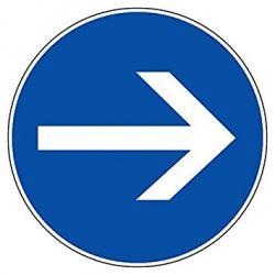 Panneau Circulation B21.2