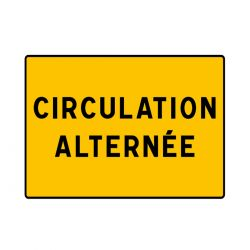 Panneau KC1 Circulation Alternée