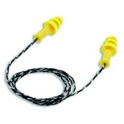 Bouchons antibruit réutilisables avec corde amovible
