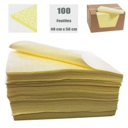 FEUILLE ABSORBANT CHIMIQUE