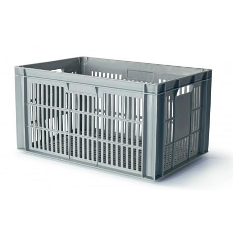Bac gris ventilé norme europe 600 x 400
