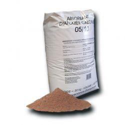 Granulé absorbant terre de diatomée - Seau de 15 kg