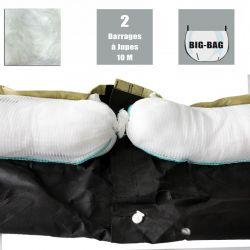 Barrage à jupe spécial dépollution - 660 L