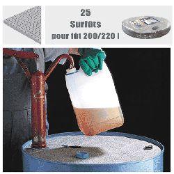 Surfût tous liquides pour des fûts de 220 L