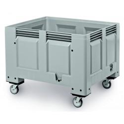 Big box rigide 4 roues 1200 x 1000