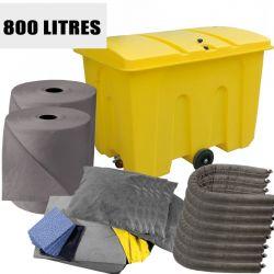 Recharge kit tous liquides 800L