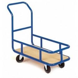 Chariot magasin avec réhausse