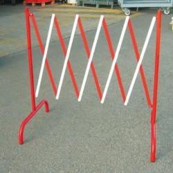Barrière chantier extensible