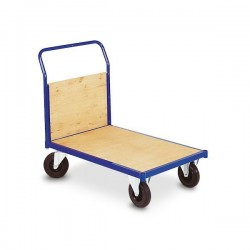 Chariot à dossier amovible bois